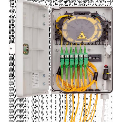 Micos Telecom 85RP.20/0000F | Micos Telecom URM SL 12C M Wall-mounted optical distribution box
