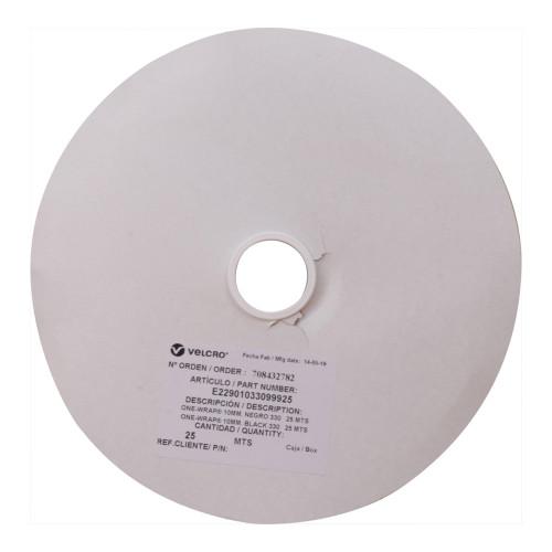 Velcro E22901033099925 | Black 10mm Wide VELCRO® Brand Continuous Tape (25m roll)