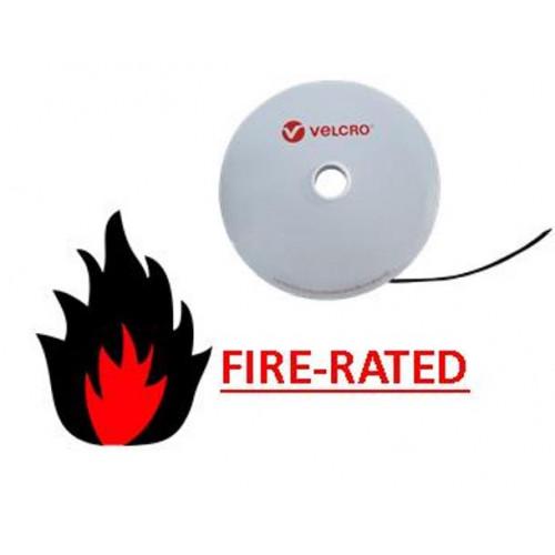 Velcro VEL-OW64141   FR Black 20mm Wide VELCRO® Brand ONE-WRAP® Tape (25m roll)