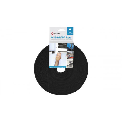 10mm Wide VELCRO® Brand ONE-WRAP® Continuous Tape - 25m roll