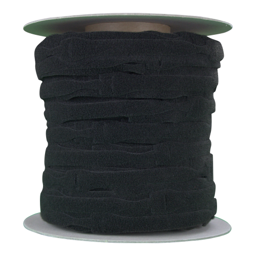 Velcro VEL-OW64466 | Black 150mm x 20mm VELCRO® Brand ONE-WRAP® Cable Ties (Spool/750)