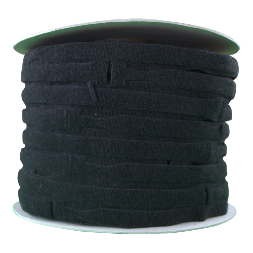 Velcro VEL-OW64866 | Black 300mm x 25mm VELCRO® Brand ONE-WRAP® Cable Ties (Spool/750)