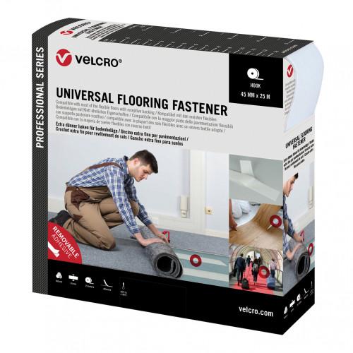 Velcro Pro Trade Universal Flooring Fastener 45mm x 25m Natural