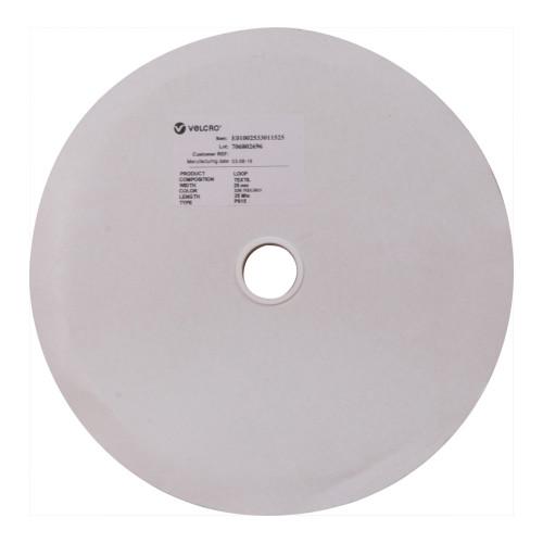 Velcro E01002533011525   FR Black 25mm Female VELCRO® Brand Loop Tape PS15 (25m roll)