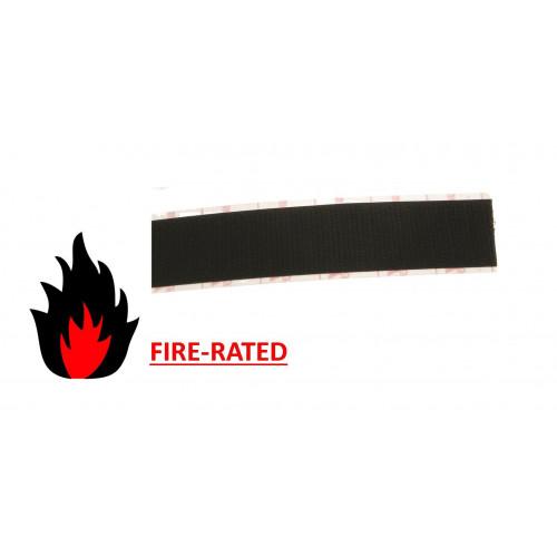 Velcro E01005033011525   FR Black 50mm Female VELCRO® Brand Loop Tape (25m roll)