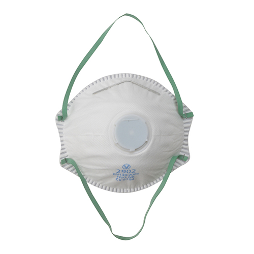 Vitrex 331053 | Valved Moulded FFP3 Respirators (Pack/ 3)