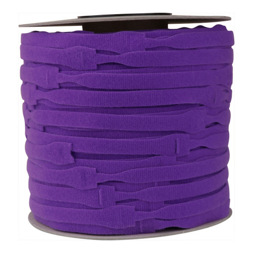 Velcro E228020557999OW20   Purple 200mm Long x 20mm Head x13mm Body Cable Ties (Spool/750)