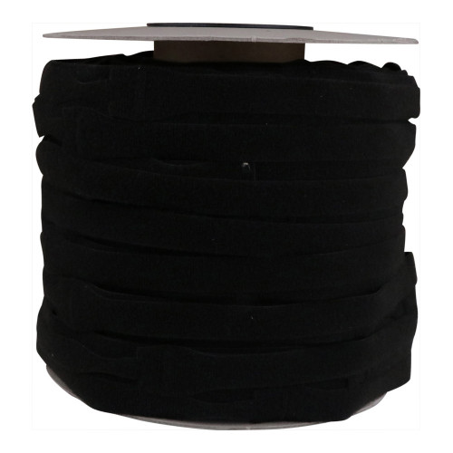 Velcro E228025330999OW30 | Black 300mm x 16mm VELCRO Brand ONE-WRAP CableTies (Roll/500)