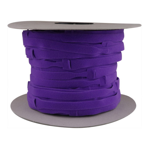 Velcro E228025557999OW30 | Purple 300mm Long x 25mm Head x16mm Body Cable Ties (Spool/500)