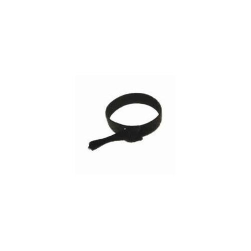 Velcro 0   Black 300mm Long x 25mm Head x16mm Body Cable Ties (Bag / 100)