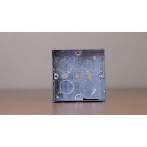 WA097  | 47mm Deep Single Gang Back Box