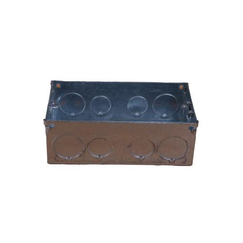 WA098  | 47mm Deep Double Gang Back Box