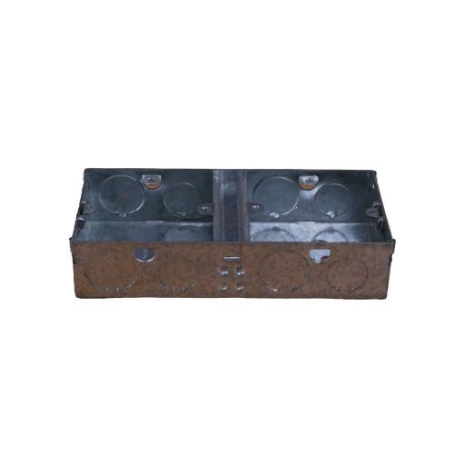 Scolmore WA099 | 35mm Deep 1 + 1 Dual Accessory Box wider