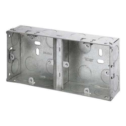 CMW Ltd WA370 | 35mm Deep 1 + 1 Dual Accessory Box