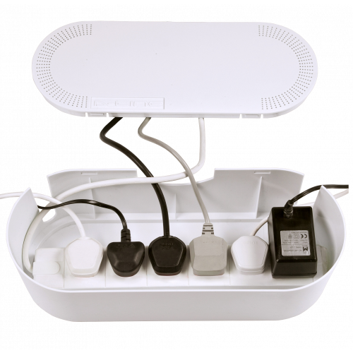 White large Cable Tidy Unit (Each)