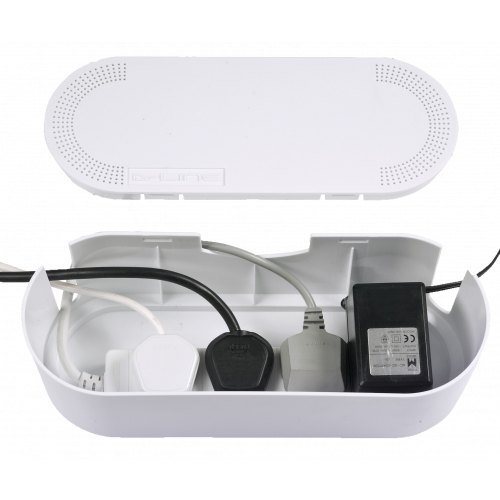 White Small Cable tidy Unit (Each)