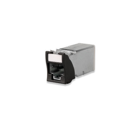 Siemon Z6A-S01 | Siemon Shielded Z-MAX Cat6A Outlet Black