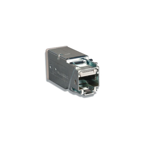 Siemon Shielded Z-MAX Cat6A Panel Outlet (Each)