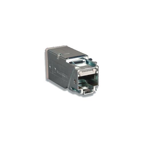 CMW Ltd Z6A-SP | Siemon Shielded Z-MAX Cat6A Panel Outlet