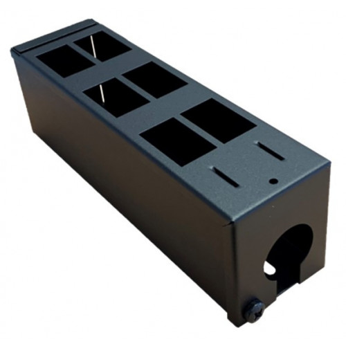 6 Way GOP Box 70mm High with 32mm Entry