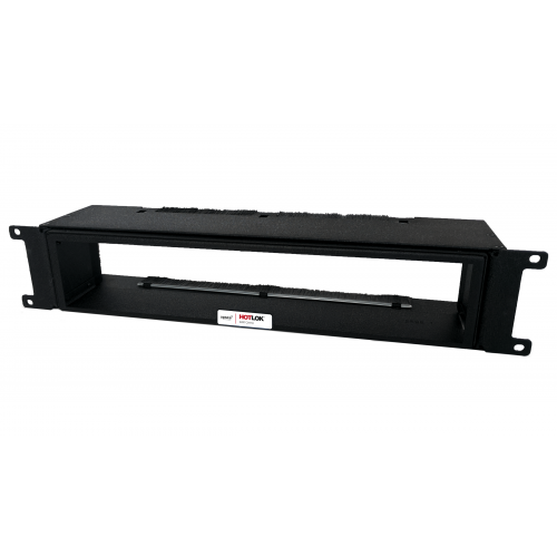 CMW Ltd  | HotLok® SF002-PR1 SwitchFix 2U, Passive, Switch Rear Intake Adjustable, Black, 105mm - 146mm