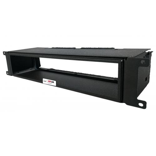 CMW Ltd  | HotLok® SF002-PR2 SwitchFix 2U, Passive, Switch Rear Intake, Adjustable, Black, 146mm - 216mm