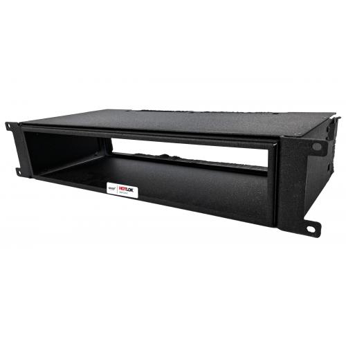 CMW Ltd  | HotLok® SF002-PR3 SwitchFix 2U, Passive, Switch Rear Intake, Adjustable, Black, 194mm - 295mm